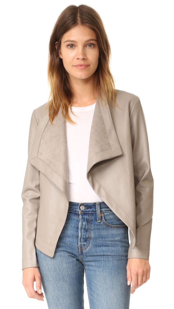¡Cómpralo ya!. Bb Dakota Peppin Vegan Leather Drapey Jacket - Toffee. A BB Dakota jacket in smooth faux leather. Oversized lapels frame the open placket. Welt front pockets. Ribbed sleeve panels. Unlined. Fabric: Faux leather. Shell: 100% polyurethane. Trim: 97% polyester/3% spandex. Spot clean. Imported, China. Measurements Length: 20in / 51cm, from shoulder Measurements from size S. Available sizes: L , chaquetadecuero, polipiel, biker, ante, antelina, chupa, decuero, leather, suede…