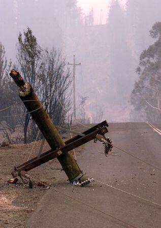 Canberra bushfire 2003