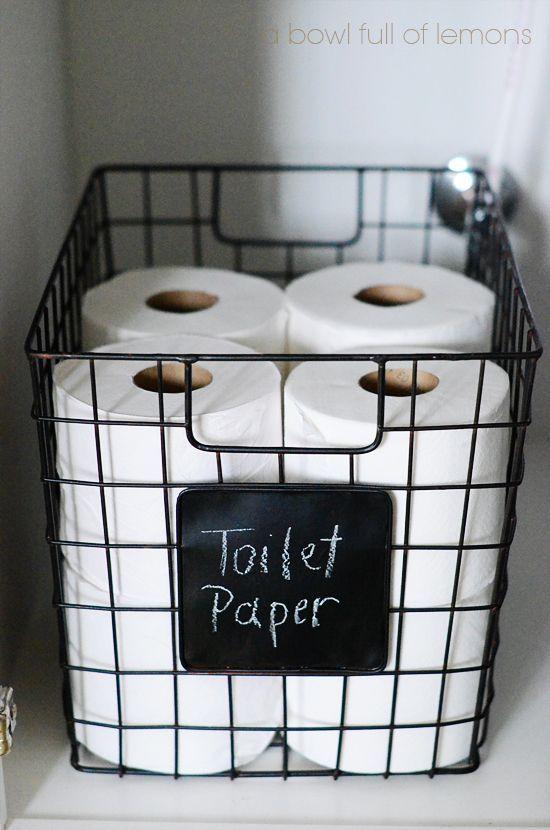 トイレ収納ボックス!トイレをおしゃれにキレイに収納するアイデア集 | iemo[イエモ]