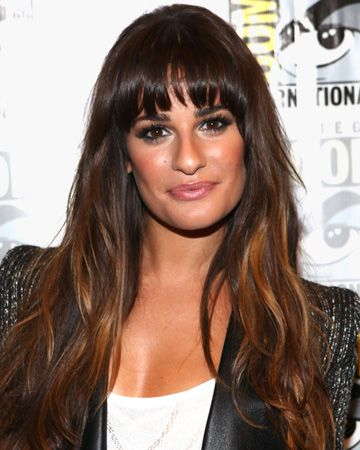 Lea Michele's bangs and wavy locks: Photos Galleries, Gorgeous Eye, Long Hairstyles, Michele Hairstyles, Lea Michelle, Google Search, Lea Michele, Celebs Hairstyles, Hair Inspiration