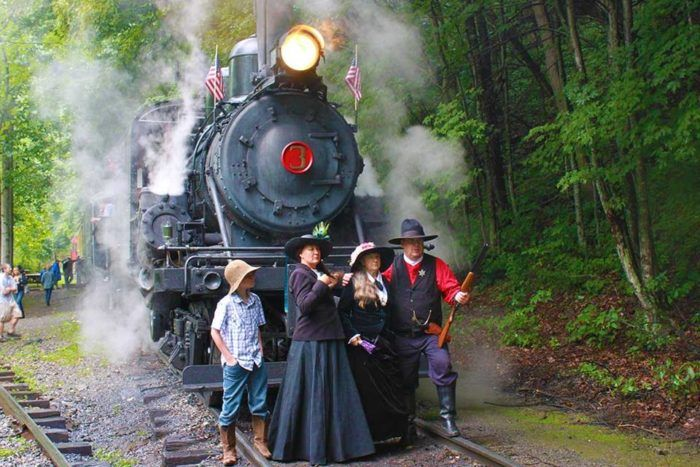 You'll Absolutely Love This Wild West Train Ride In West Virginia