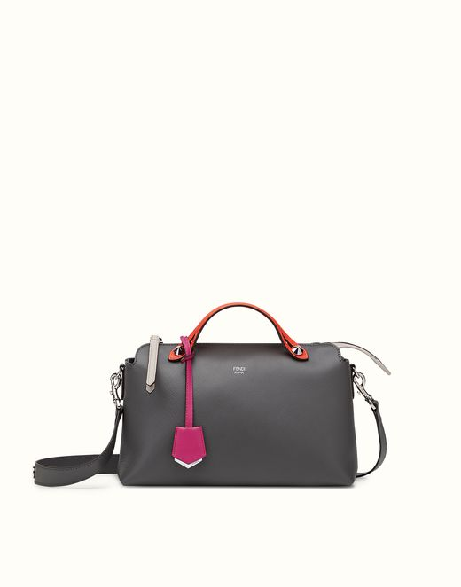 FENDI | BY THE WAY small multicolored leather Boston bag