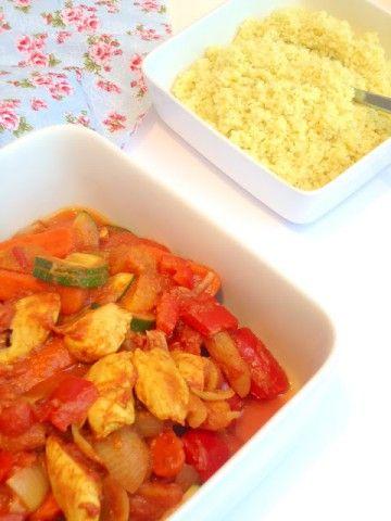 Een lekker recept voor een marokkaanse stoofpot dat je ook in de Tajine kunt bereiden.