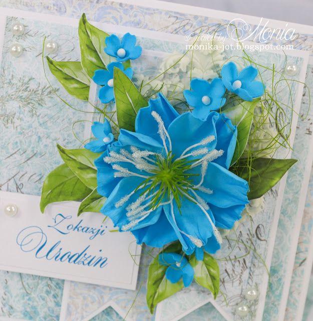 Niebieskie Kwiaty Lluvia De Sobres Lluvia