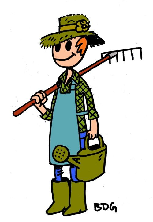 Le jardinage - Bout de gomme - possibility FRENCH