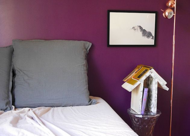 Chambre Violet Aubergine Fabulous Cheap Xxl Papier Peint Intiss