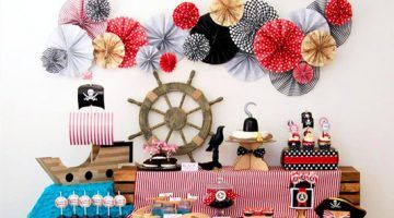 des idees pour une sweet table pirate