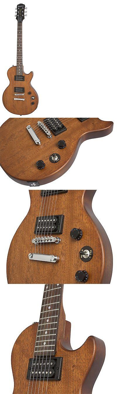 musical instruments: Epiphone Les Paul Special Ve Solid-Body Electric Guitar, Walnut -> BUY IT NOW ONLY: $149.99 on eBay!