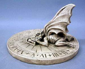 Gargoyle Sundial PR 8 H X 11.5 DIA.  Gargoyle Sundial Price: $59.00