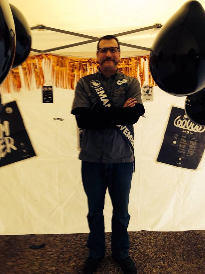 Gerry won Mobro 2013 at our Movember Party.