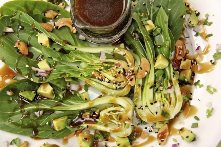 Baby Bok Choy With Cashews Recipes — Dishmaps