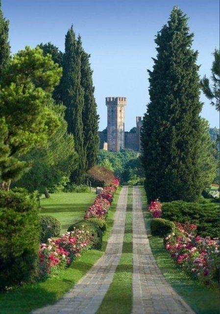 castillo de sueños en italia