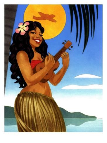 hula girl porn pics