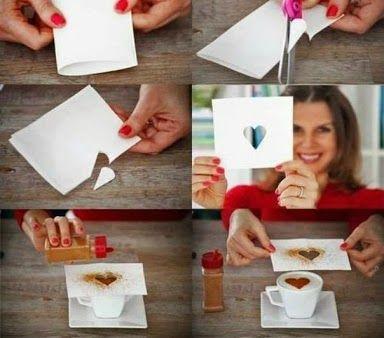 Compartimos una idea para sorprender con un corazoncito el dia de San Valentin y todos los dias del año :-)