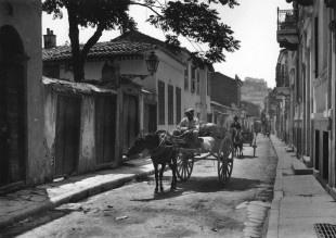 Plaka area, Athens 1920