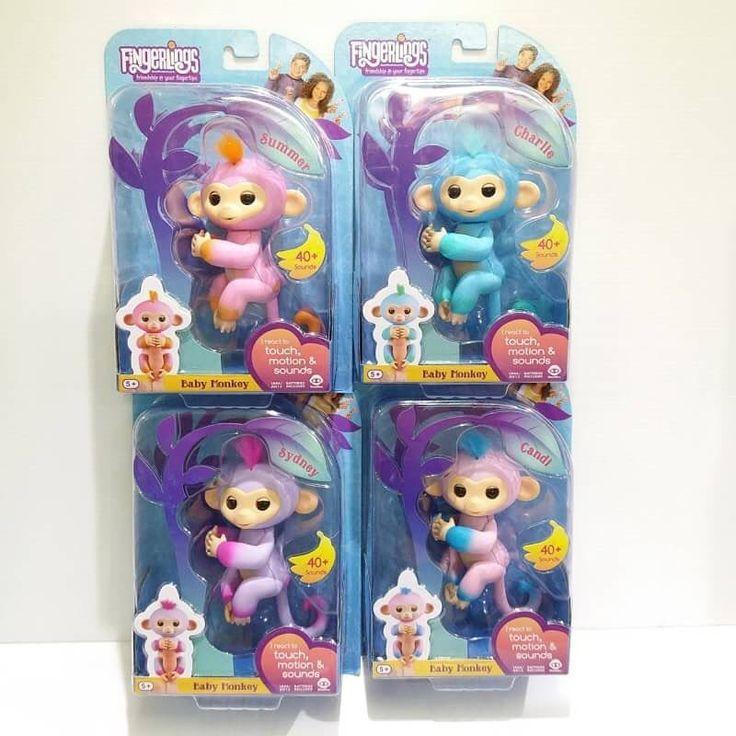 พรอมสง ของแท #รแอคชนทอยส รน 2 โทนส Two Tone เปนรนพเศษ ผลตจำนวนจำกด Exclusive จำหนสยในเฉพาะท Toys R Us  WOWWEE #Fingerlings / Two Tone Sweet Fingerling Monkeys  กรณาระบส Exclusive 1. Fergerling Blue ฟา 2. Fergerling Purple มวง 3. Fergerling Pink ชมพ  4. Fergerling Fushcia ชมเขม ราคาปกต ชนละ 1490 บาท  พเศษ ชวงแนะนำเพยง เพยง 1050 บาท เทานน 65 Ems (ysd)  ลกเลนใหม 2 ส ใน หนงเดยว นารก สวย นาสะสมกวาเดม สะสมดวน 1. เมอกดทหว 3 วนาท เมอหวตงขนนองตดได  2. เมอกดทหว 3 วนาท เมอหวตงขนนองเรอได  3…