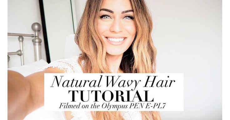 Ένα Βίντεο για το πως να πετύχεις αυτό το φυσικό αποτέλεσμα με φυσικές μπούκλες - natural beach waves - υπέροχο για όλες τις ώρες του καλοκαιριού και ειδικά