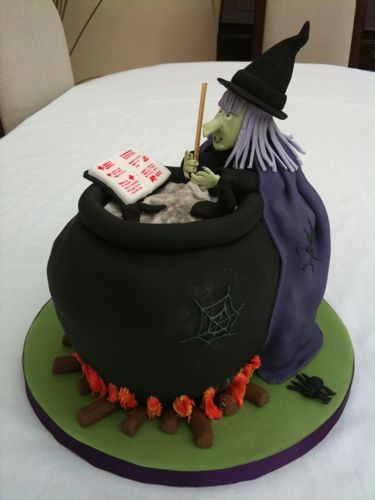 halloween cakes | Halloween Witch cake | Flickr - Photo Sharing!