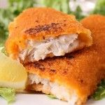 Fish Sticks- Battered with organic corn flour and seasonings. A tried and true kid favorite with a healthy whole-grain crunch that 'big' kids will like too! - War Eagle Mill