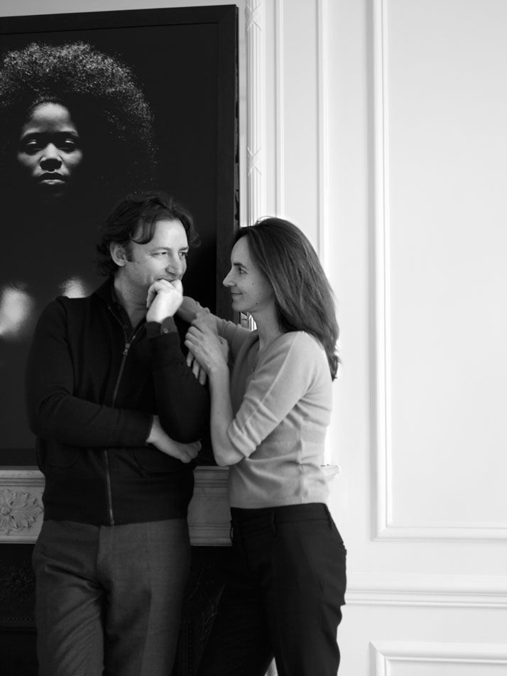 Patrick Gilles & Dorothée Boissier. Husband and Wife team. My absolutely favorite. They used to work at Starck and Liagre.