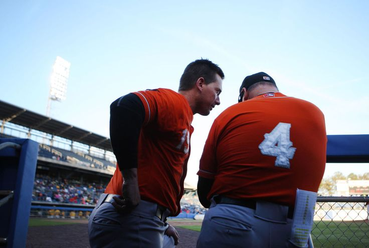 Norfolk Tides have father-son combination  chris johnson-inf and manager/father ron johnson   norfolk tides 2017