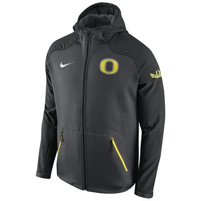 WANT!! Oregon Ducks Nike Championship Drive Ultimatum Therma Sphere Performance Jacket - Anthracite