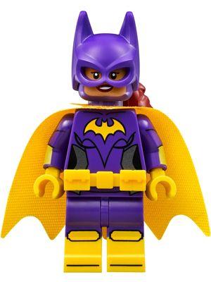 sh305: Batgirl, Yellow Cape
