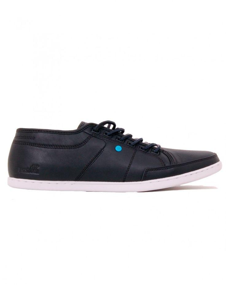 Sneakers cuir noir Sparko de chez Boxfresh  50,00 € au lieu de 100,00 €  http://www.letagehomme.com/sneakers-cuir-noir-sparko.html