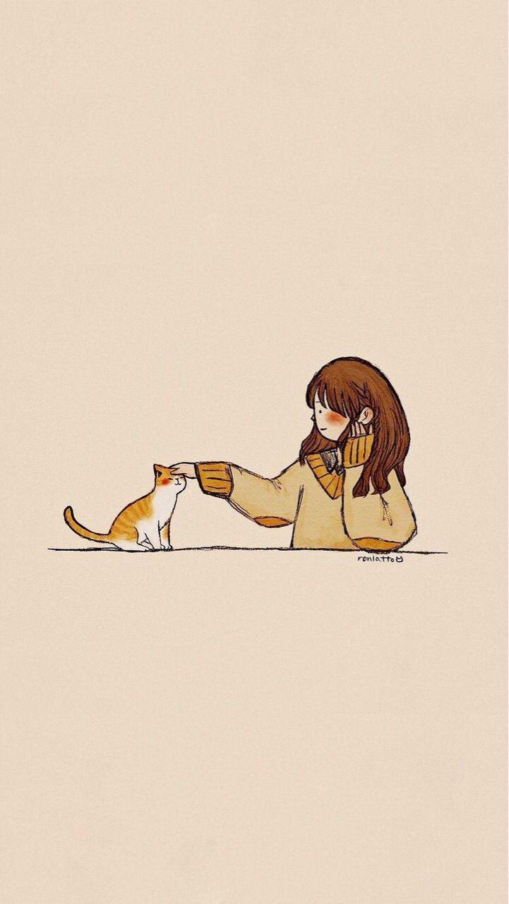 𝑝𝑖𝑛𝑡𝑒𝑟𝑒𝑠𝑡 𝘣𝘳𝘪𝘴𝘩𝘢𝘢𝘢 Cats Art Drawing Cute Drawings Cats Illustration