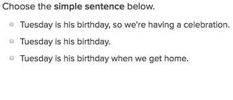 Simple, Compound and Complex Sentences Exercises | Education.com