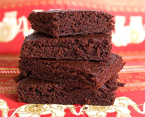 Hershey's unsweetened cocoa powder brownies. But trust me, it's basically butter and sugar. Yum!