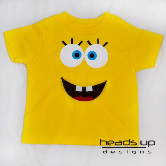 Toddler Spongebob Shirt  Spongebob tshirt Kids  by headsupdesigns, $14.95