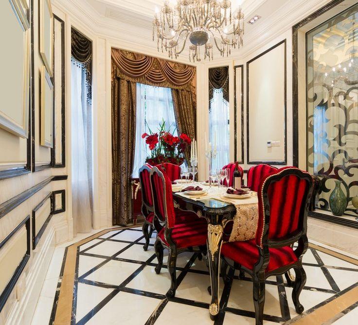 Rote Moebel Im Esszimmer : Rote st?hle f?r wohnzimmer m?belideen