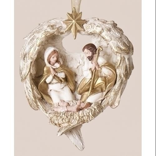Holy Family With Angel Hair Glass Ornament: 42 Best Images About Ornamentality On Pinterest