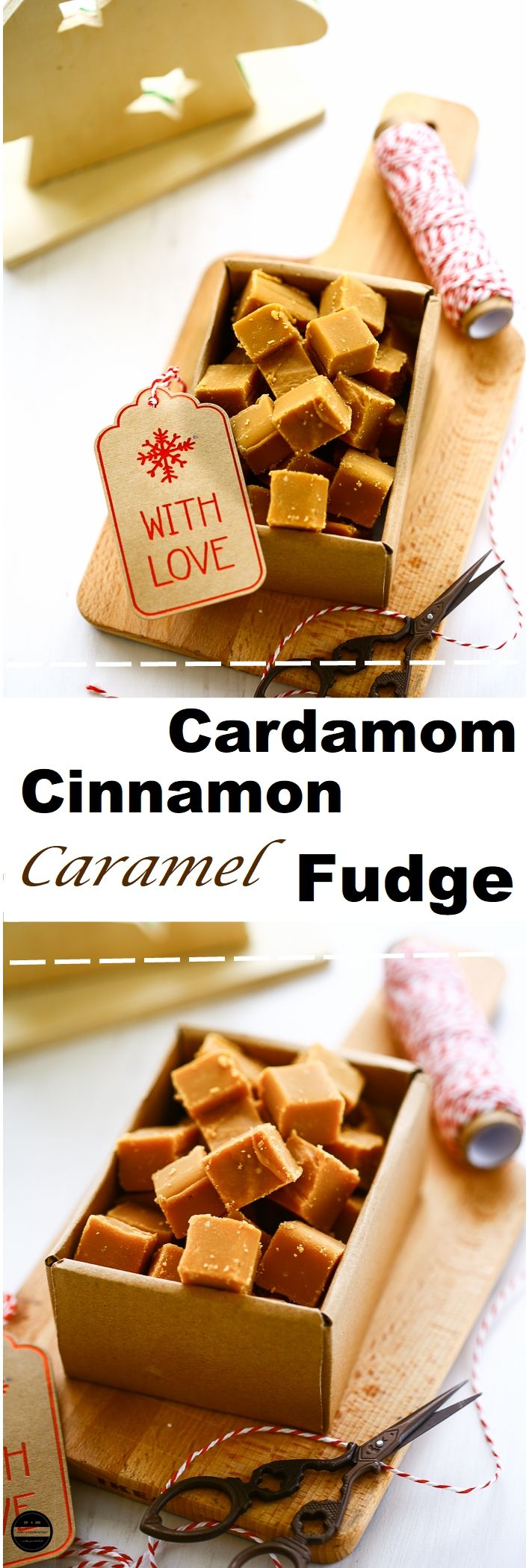 Cardamom, Cinnamon and Caramel Fudge