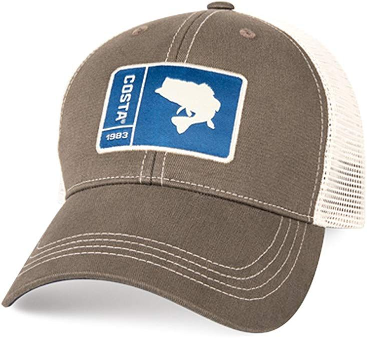 Mens Fishing Costa Del Mar Tuna Trucker Hat Cap Trucker