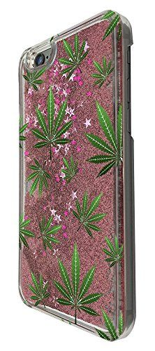 C0152 - Marijuana Leaf Cannabis Weed Rasta Jamaican Marley Style Design For iphone 6 6S 4.7'' Fashion Trend CASE Protective Cover Liquid Floating Luxury Bling Glitter star Sparkle Case -Clear&Pink - http://weedonsteroids.com/?product=c0152-marijuana-leaf-