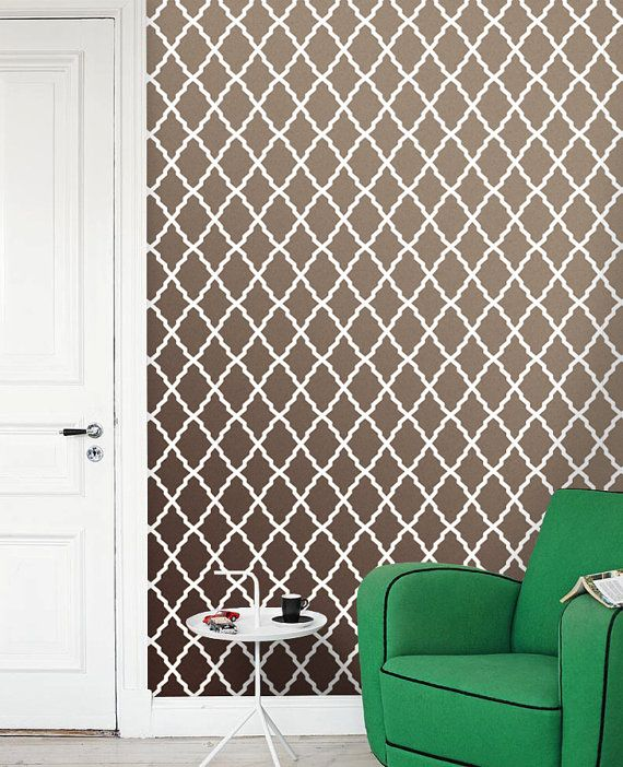 Moroccan Removable Self Adhesive Vinyl Wallpaper Wall