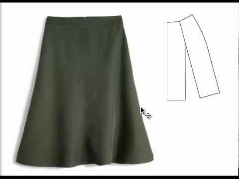 São várias as formas de produzir evasê em saias, vestidos e calças... Aqui uma mostra de como fazer isso e obter um excelente resultado. Conheça nossos Curso...