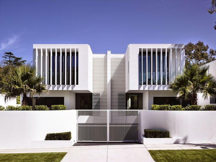 Decor Salteado - Blog de Decoração e Arquitetura : Casas Gêmeas com arquitetura moderna e encantadora!