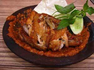 Resep Ayam Penyet
