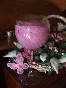 Strawberry rose Smoothie