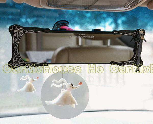 New Jack Nightmare Before Christmas Car Rear View Mirror