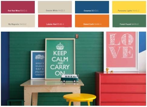 Plascon Mystery Palette Colour Forecast 2012