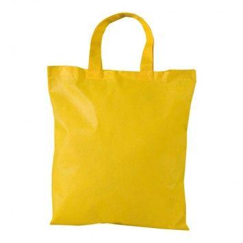 Shopper busta TNT f.to 42 X 38 cm manici corti personalizzata