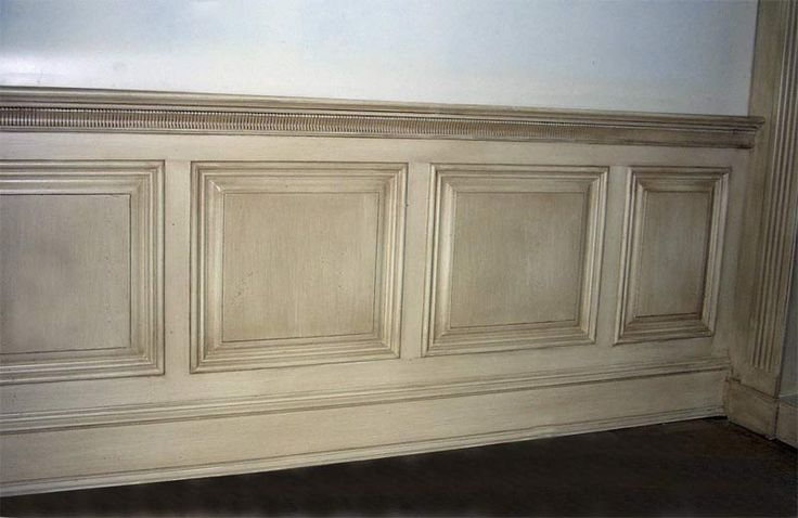 Dado wood tiled dado wainscot architecture class for Dining room painting ideas with wainscoting