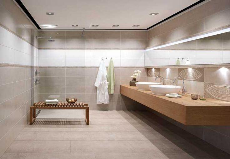 Een open badkamer met #houten meubels is het helemaal dit najaar! Klaar voor een nieuwe look in de #badkamer? Klik op de afbeelding voor de 5 #badkamertrends van nu!