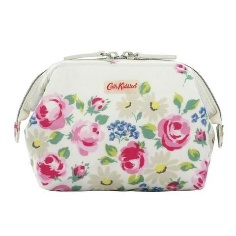 Cath Kidston Daisies & Roses frame makeup bag