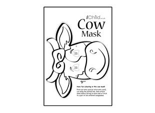 cow mask coloring page - 150 best images about dairy crafts activities on