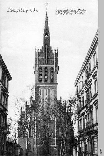 Königsberg, Katholische Kirche zur Heiligen Familie, Kirchturm